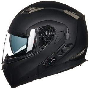 ilm bluetooth integrated modular motorcycle helmet