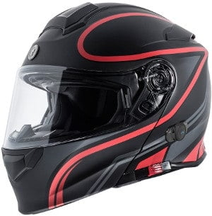 torc unisex bluetooth integrated motorcycle