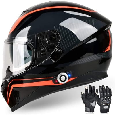 freedconn bluetooth integrated motorcycle helmet