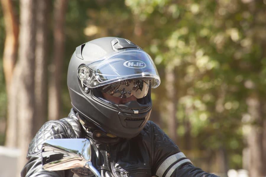 modular helmet open wear